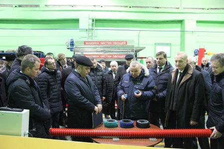 Посещение завода заместителем премьер-министра Республики Беларусь